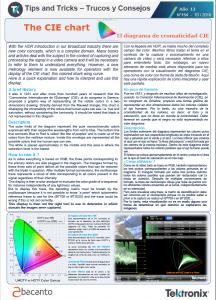 TEKTRONIX TIPS&TRICKS 154 - El diagrama de cromaticidad CIE - ES