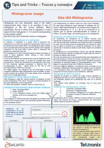 TEKTRONIX TIPS&TRICKS 156 - Utilización del Histograma-ES
