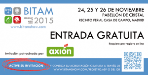 Invitacion Bitam 2015
