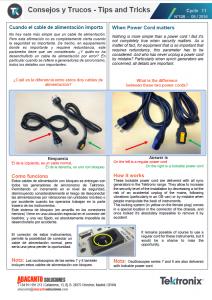 Cables de alimentación con bloqueo