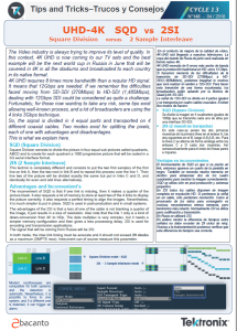 TEKTRONIX TIPS&TRICKS 148 - UHD 4K SQD vs 2SI - ES